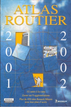 Renault atlas routier 2001